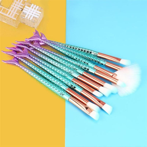 11 pcs makeup base eyebrow eyeliner blush cosmetics concealer brushes brushes maquiagem brushes makeup brushes