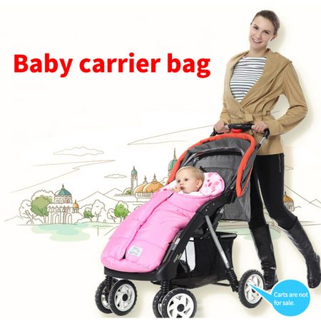 Baby stroller sleeping bag