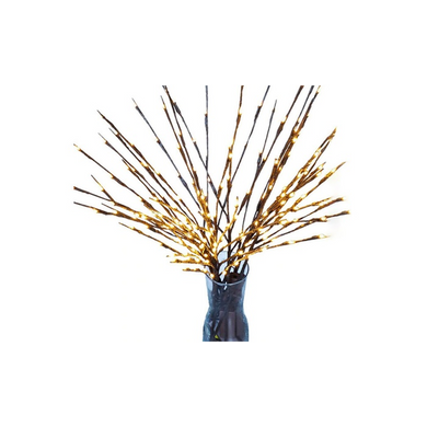 Willow Branch Decorative LED Lamp with 20 Bulbs (Ships From USA)