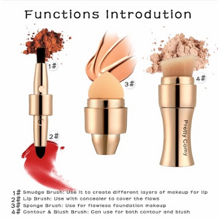 4 in 1 Makeup Foundation Tool