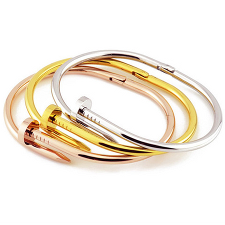 Nail Bangle Assorted Colors (Ships From USA)