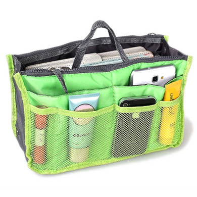 Slim Bag-in-Bag Purse Organizer - Assorted Color (Ships From USA)