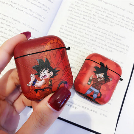 Luxury popular Anime Dragon Ball Wukong silicone Soft Headphone Earphone Case For Apple Airpods 1 2 Wireless Accessories cover