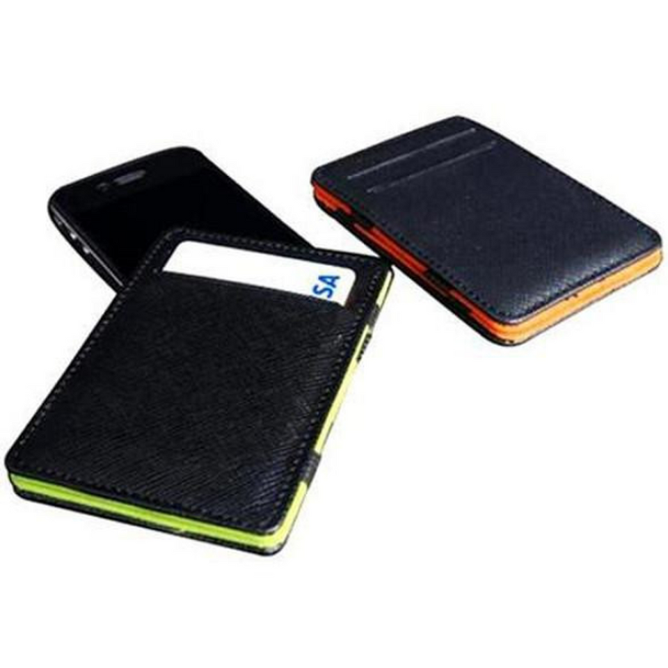 Leather Card Case - Assorted Colors (Ships From USA)