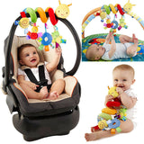 PUDCOCO New Activity Spiral Stroller Car Seat Travel Lathe Hanging Toys Baby Rattles Toy