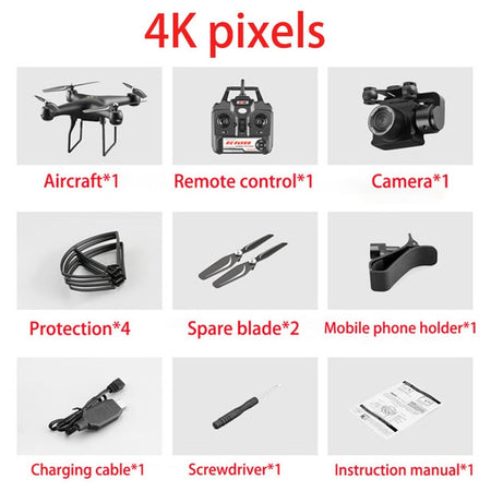 High Quality 4K/HD Flying Camera