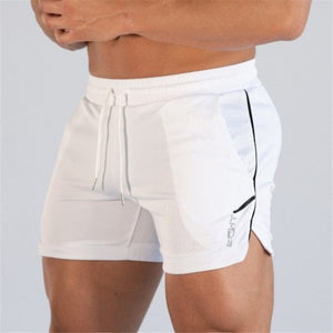 2019 New Summer Men Fitness Bodybuilding shorts Mens Mesh Breathable Quick Drying Fashion Casual Joggers shorts Sportswear