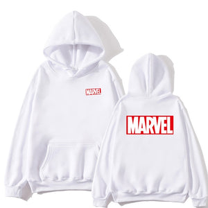 high quality MARVEL letter printing fashion hoodie