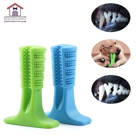 Pet Products Big Dog Toothbrush For Dogs Effective Brushing Stick Teeth Cleaning Toys For Small Medium Large Dog FS0001