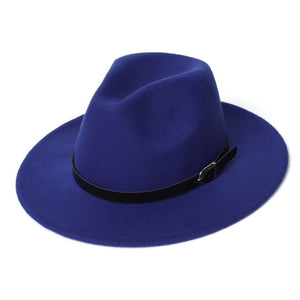 Casual Wool Fedora Hat