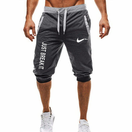 M-3XL Summer 2019 Man's Shorts Casual Shorts Fashion Dragon Ball Goku print Sweatpants Fitness Short Jogger male clothing