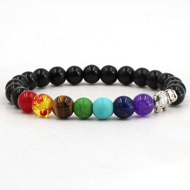 2019 Trendy Charm Howlite Stone And Volcanic Rock Lava Natural Stone Bracelet For Men Jewelry Accessories Gift Bohemia Bracelet