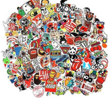 100 Elegant pieces of stickers