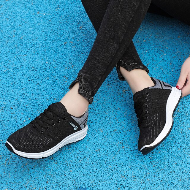 Shoes Female Summer Small White Mesh Sports Student  Shoes