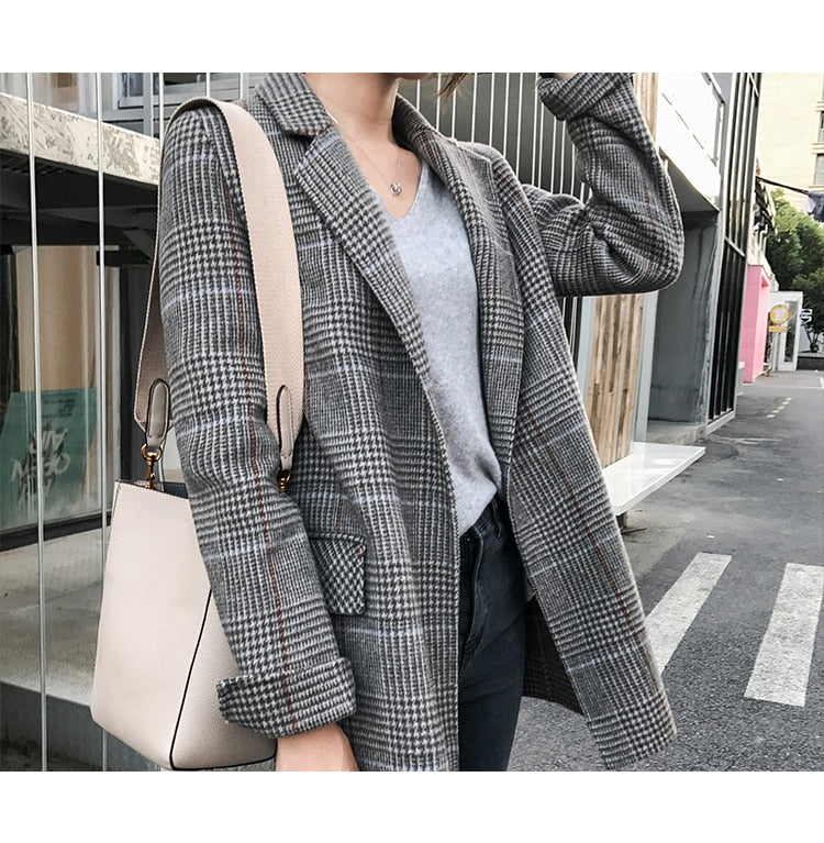 Luxury Wool Jacket ASTHMA New Autumn And Winter