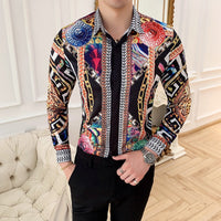 Luxury Long Sleeves Slim Fit Shirt