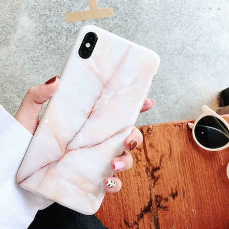 Marble Case on For Coque iphone 11 Pro Max 7 XS MAX Case Soft TPU Back Cover For iphone 6 6S 7 8 Plus iphone X XR Case Cover