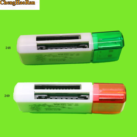 ChengHaoRan USB 4-in-1 Multi-Card Reader High-Speed 2.0 Direct Reading For SD MS TF M2 Card For PC Laptop Desktop Computers
