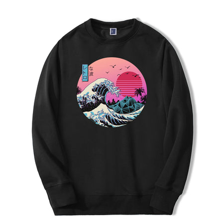 High Quality Vintage Men Sweatshirt New Arrival Fashion