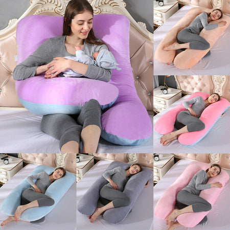 Full Body Giant Pregnancy Pillow  Maternity Pillow Pregnant Women Comfortable Soft Cushion Sleep Body
