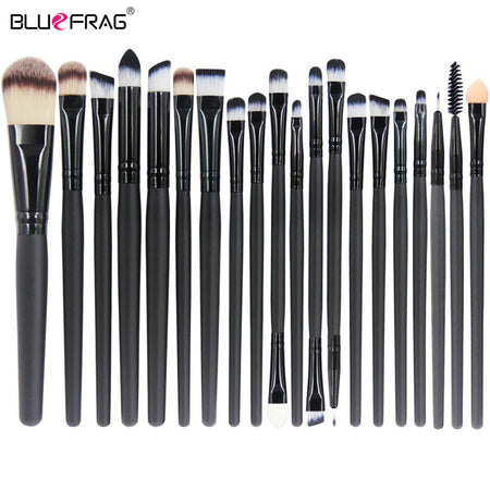 Hot Makeup Brushes Set 20/18/15/2Pcs Eye Shadow Foundation Powder Eyeliner Eyelash Lip Make Up Brush Cosmetic Beauty Tool Kit