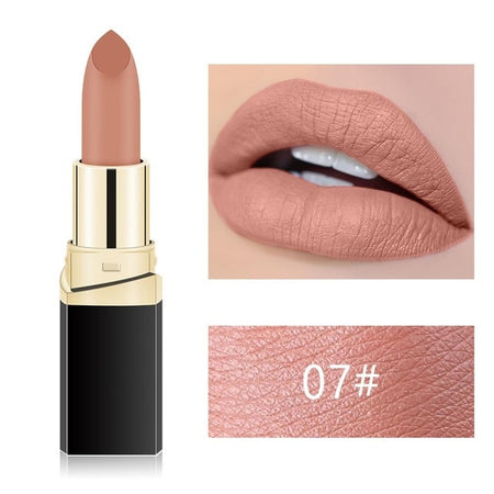 Makeup Waterproof Women Lipstick Cosmetics 18 Color Lip Stick Matte Makeup Long Lasting Nude Matte Lipstick Kit