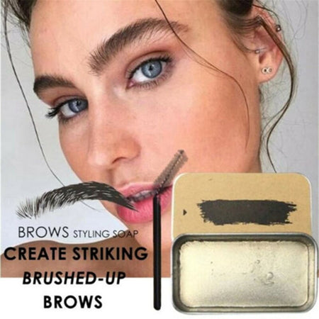 Hot 3D Brows Makeup Gel Soap Long Lasting Eyebrow Set Thick Portable Cosmetics for Women Female Girl Eye Makeup t6