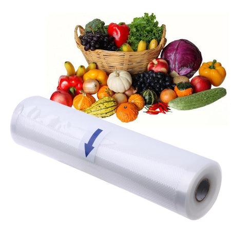 1 Roll Bags for Vacuum Packing Machine Food Sealer Vacuum Packer Storage Bag Food Saver Kitchen Utensils Food Fresh Plastic Bag