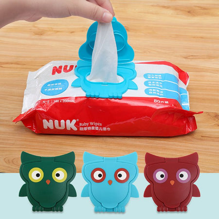 Reusable Baby Wipes Lid  Wet Wipes Cover Portable Child Wet Tissues Box Lid Mobile Wipes Wet Paper Lid Useful