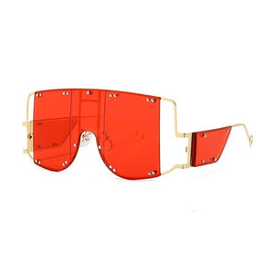 New Style Luxury Fashion Sunglasses Men Women Vintage Oversized Glasses