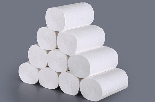 10/20/30Rolls/Lot Fast Shipping Toilet Roll Paper 4 Layer Home Bath Toilet Roll Paper Primary Wood Pulp Toilet Paper Tissue Roll