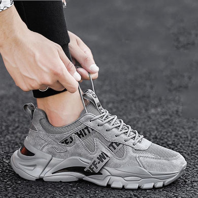 5 Colors Thick Bottom Mens Casual Shoes Men Sneakers Men Trend Lace-Up Brand Luxury Sports Whit Fitnessw White Shoes Men New