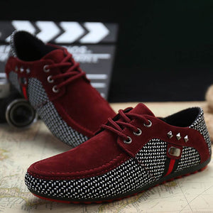 Luxury Men Flat Classic Formal Shoes Lace Up Casual Shoes Breathable Male Loafers Moccasins Shoes Black Hombre Plus Size 46