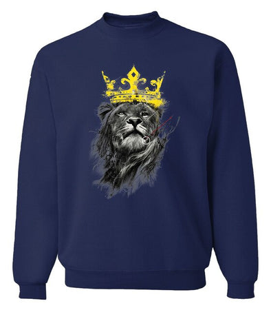 High Quality Lion Cool Sweatshirts Men Hoodies