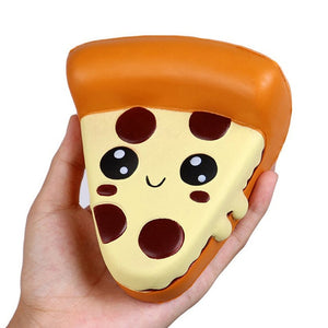 Jumbo Cheese Chocolate Biscuits Cute Squishy Slow Rising Soft Squeeze Toy Phone Strap Scented Relieve Stress Funny Kid Xmas Gift