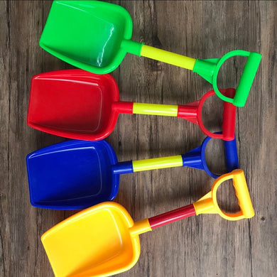 Small plastic thickened beach toy shovel Digging sand play water outdoor house detachable children's toys