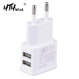 5V 2A Plug Dual Double USB Charger For iphone ipad ipod Universal