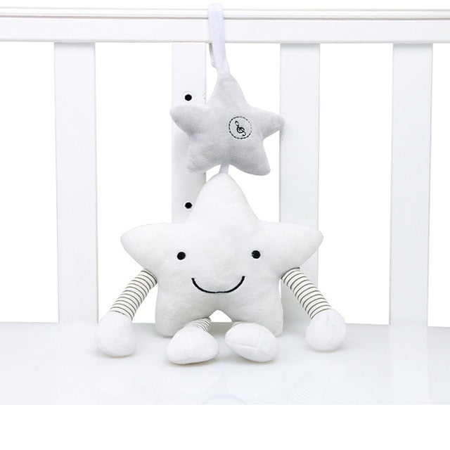 Toys for Baby Soft Animal Plush Baby Rattles/Mobile Toys Hanging Stroller Bell Baby Toys Crib Rattle Bebe Toys 0-12 Months