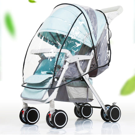 Baby Stroller Raincover baby trolley rain cover Cart Dust Rain Cover Raincoat Pushchairs Pram Buggy Raincover