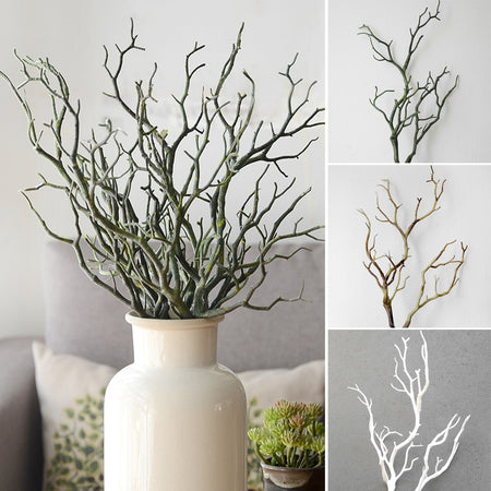 1pc 35cm beautiful Dry Fake Foliage Plant Tree