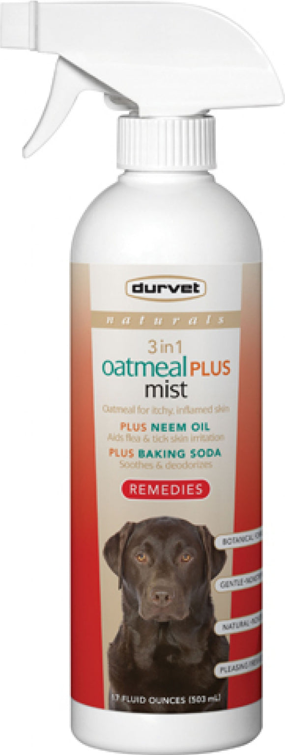 Naturals 3 In 1 Oatmeal Plus Mist dog