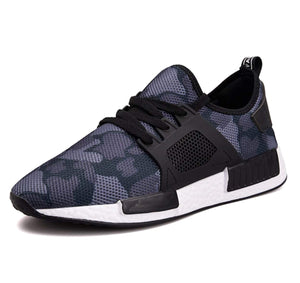 Mens Breathable camouflage Sneaker