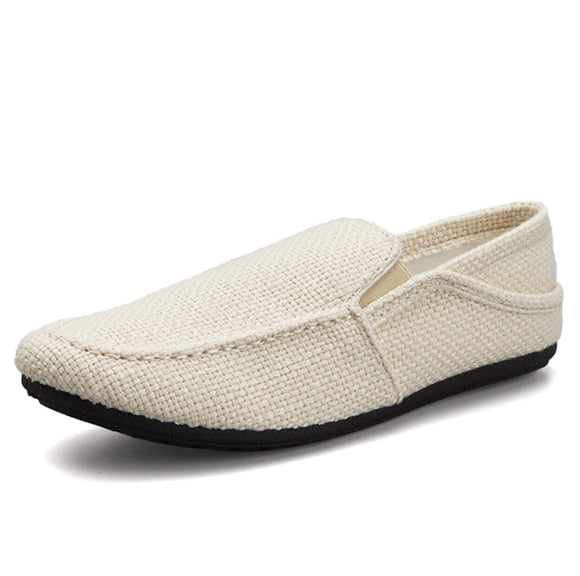 Mens Canvas Loafers