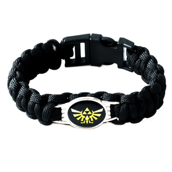Game Zelda Bracelet Cosplay Costumes Accessories Props Black Punk Fashion Bracelets