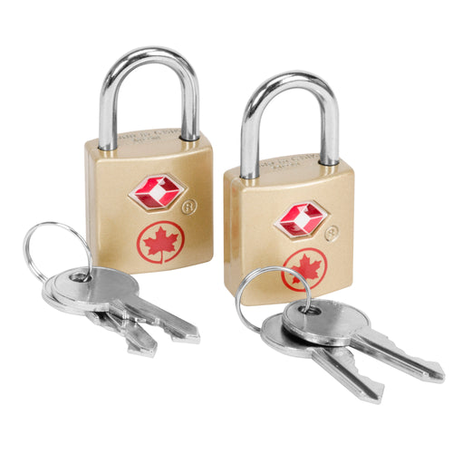 Air Canada Travel Sentry Key Lock (Set Of 2) - ACP3066LT