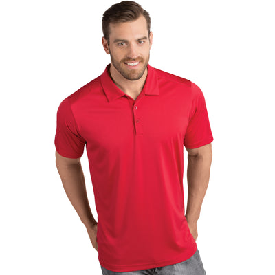 Antigua Men's Tribute Polo Dark Red