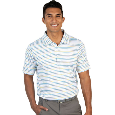 Antigua Men's Draw Short Sleeve Polo - A104325