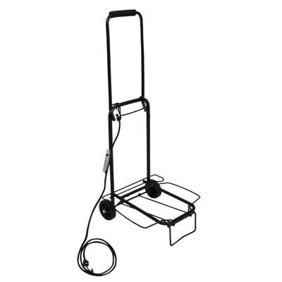 Maple Leaf Compact Luggage Cart - MLT6226BK