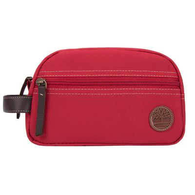 Timberland Core Canvas Travel Kit RED