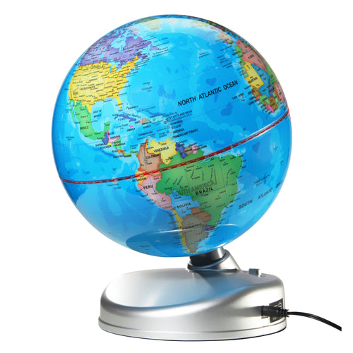Discovery #Mindblown Globe 2-In-1 Day And Night Earth - DS9918AS18